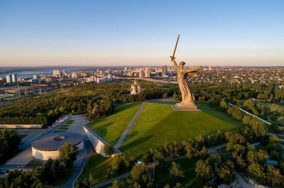 Репетиция парада Победы прошла в Волгограде