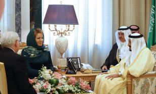 Раскрыты причины встречи Матвиенко с королем саудитов