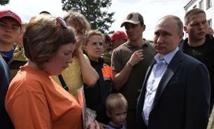 Путин собирается посетить школу в Тулуне, которую обещал восстановить