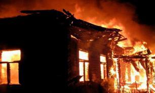 Мать с двумя малышами погибли в пожаре под Новосибирском