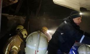 Двухэтажный дом обрушился в Уфе от взрыва газа