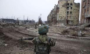 """""""Издевательство"""": защитники Донбасса вывесили флаг Украины"""