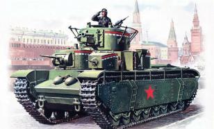 """Т-35: """"опоздавший на войну"""""""