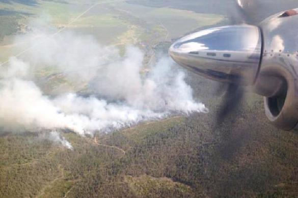 На Кубани пытаются потушить шесть природных пожаров
