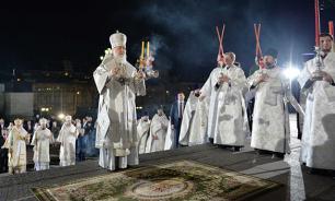 В пасхальных богослужениях приняли участие более 4,3 млн россиян
