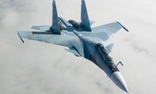 Су-27 перехватил самолёты ВМС и ВВС США над Чёрным морем