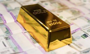 ЦБ сократил долю доллара и евро в золотовалютных резервах