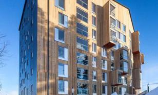 В Москве построят деревянный многоэтажный дом
