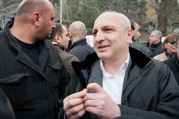 """Соратник Саакашвили вышел из тюрьмы и уже грозит """"свержением режима"""""""