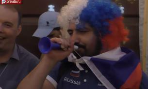 Болели за наших: как Россия отметила разгром сборной Египта