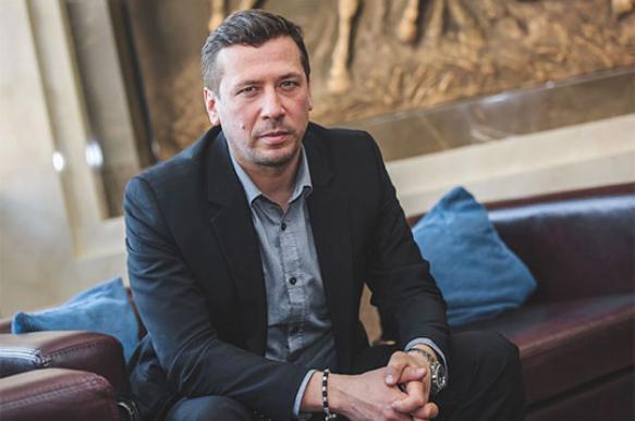 Невъездной Андрей Мерзликин перебежал границу Украины в поле