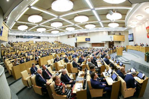 Госдума в первом чтении одобрила законопроект о поправке в Конституцию