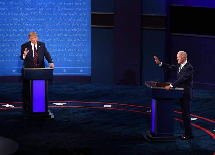Вторые дебаты Трампа и Байдена проведут удалённо
