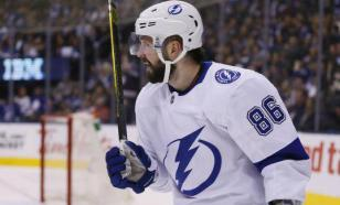 Кучеров продолжает бить рекорды в НХЛ