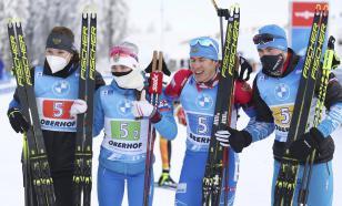 Российская четвёрка биатлонистов пробилась в масс-старт чемпионата мира