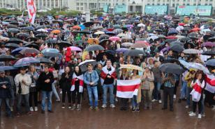 В разных районах Минска проходят акции протеста