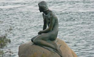 Копенгаген прощается с Русалочкой