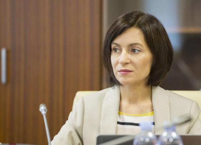 Санду настаивает на выводе миротворцев РФ из Приднестровьяя