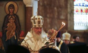 Патриарх Кирилл провел службу в Успенском кафедральном соборе в Лондоне