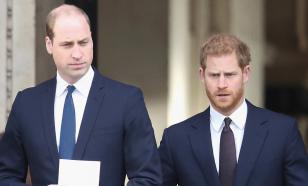 Принц Уильям и принц Гарри поссорились на похоронах деда принца Филиппа