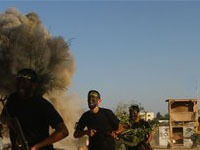 Израиль обстрелял сектор Газа.