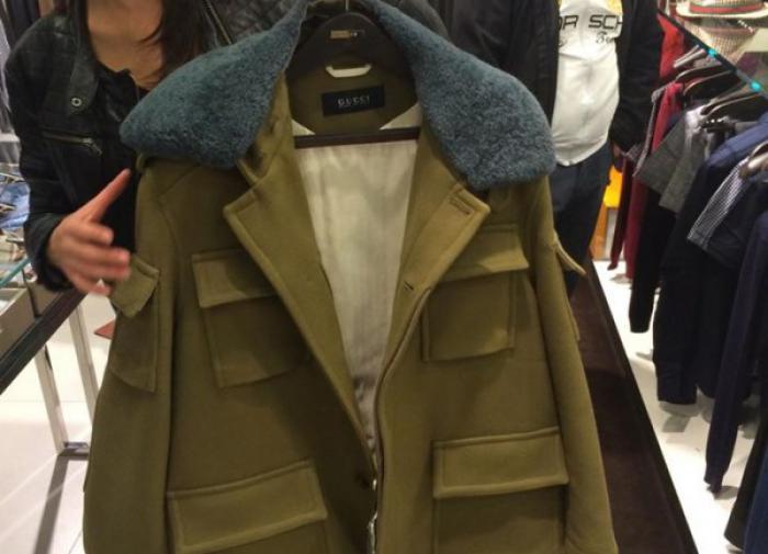 Бренд Gucci пошил куртки, похожие на советский армейский бушлат