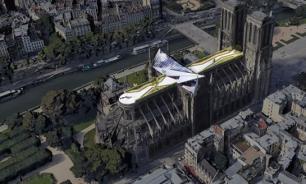 Архитектор предложил возвести над собором Парижской Богоматери хрустальный купол