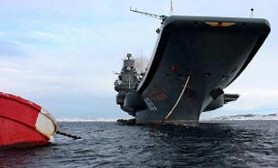 ИноСМИ: новый российский авианосец будет атомным