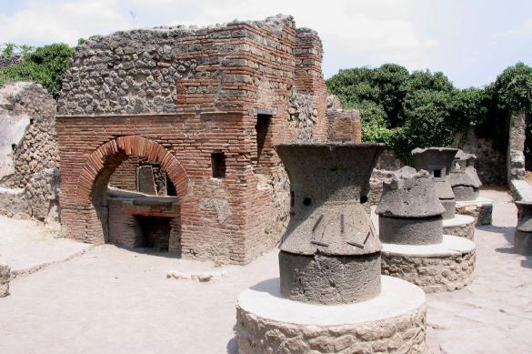 В древних Помпеях сортировали и перерабатывали мусор