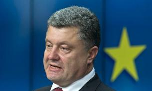 Порошенко поздравил украинцев с победой над нацизмом, завершив речь лозунгом УПА