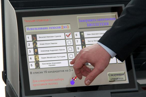 Россиянам могут разрешить голосовать дистанционно