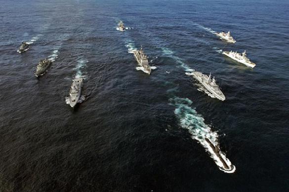 Российский флот взял под контроль корабли НАТО в Чёрном море