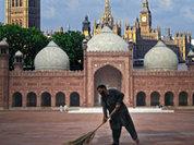 Самодельная исламская бомба под Англией