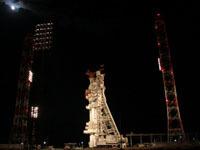"""Первый запуск """"Союза"""" с космодрома Куру отложен на сутки."""