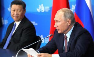 Глава Китая поздравил Путина и всех россиян с Новым годом открыткой