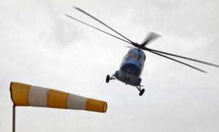 В Подмосковье произошла экстренная посадка вертолета Ми-38