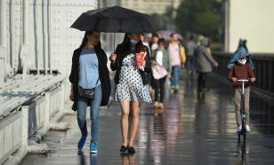 Последний день июля в Москве может быть дождливым