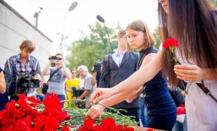 У посольства Японии в Москве прошла акция памяти по погибшим в Хиросиме
