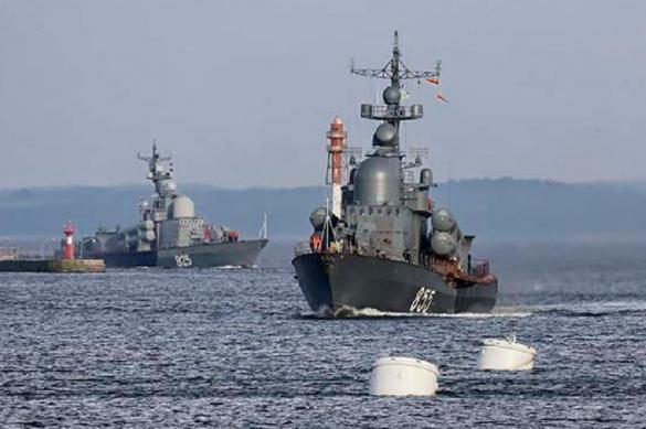 Корабли Балтийского флота приступили к масштабным учениям