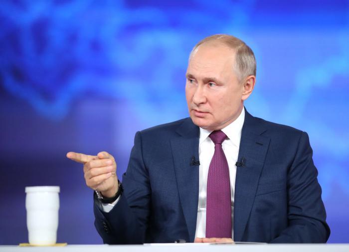 """Путин уверен, что """"ущипнуть"""" Россиювсфере спорта больше не удастся"""