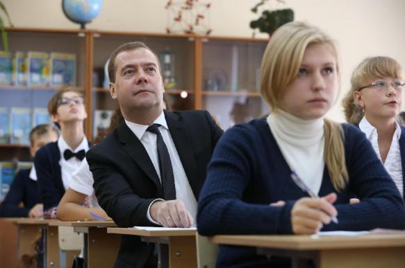 Учительница Дмитрия Медведева высказалась против ЕГЭ