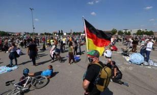 В Берлине пять полицейских пострадали на акциях протеста