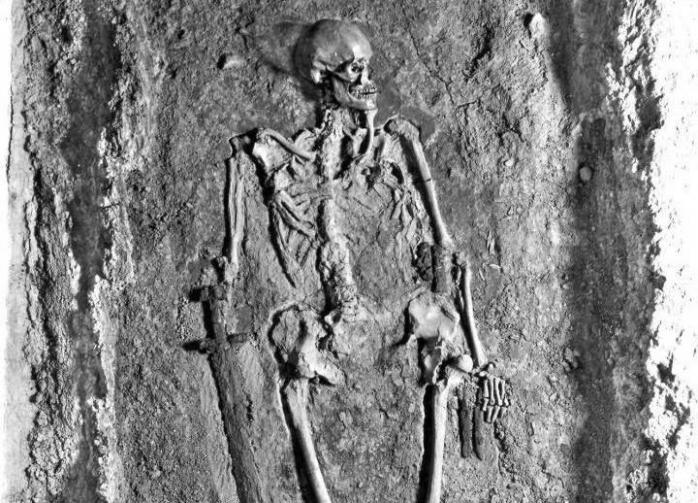 Скелет из Пражского Града в руках пропагандистов