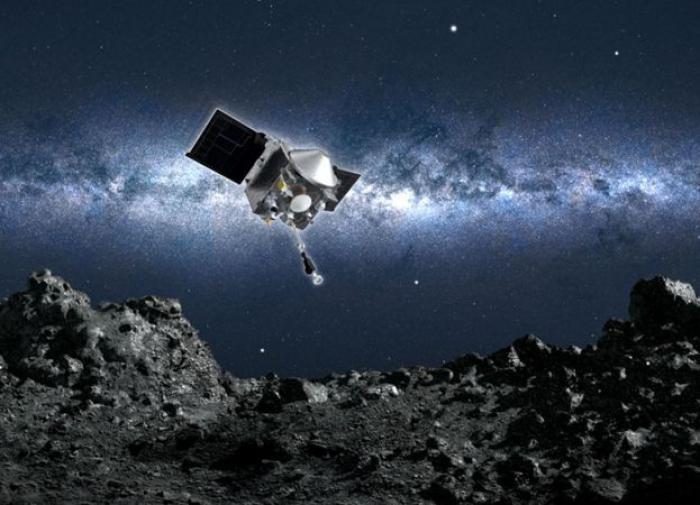 Зонд NASA приблизился к поверхности астероида и взял пробы
