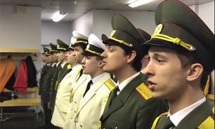Хор русской армии спел песню Басты