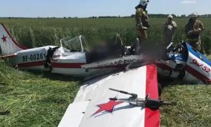 В Самарской области приступили к осмотру места крушения самолета