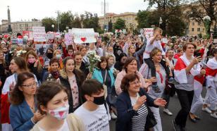 Около 150 тысяч человек вышли на улицы Минска