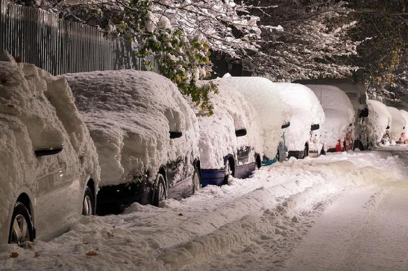 Снежный циклон уходит из Москвы, оставляя рекордные сугробы