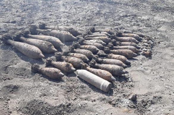 В Ростовской области нашли 50 боеприпасов времен войны