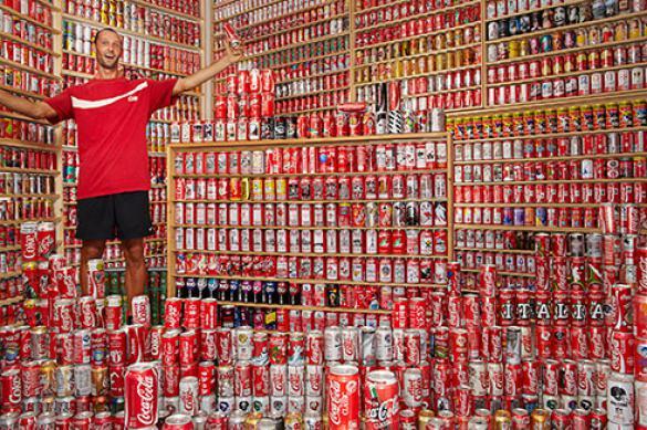 Самая большая коллекция банок Coca-Cola: цифры и факты